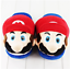Super Mario Plush Slippers Soft One Size Cotton Adult Kids Computer Game New