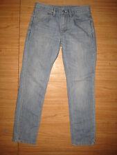 8466 used Levi's blue  511 skinny used jeans 31x32