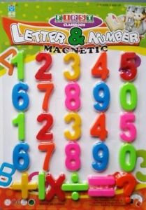 Magnetic Numbers Symbols Kids Learning Aid-educationa<wbr/>l