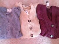 Aeropostale Womans/juniors Knit Sweaters With Hoods, Size S&l, Warm