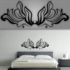 """Decorative Headboard Wall Decal, Bedroom Wall Decor - 48"""" x 20"""""""