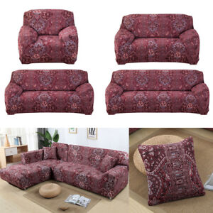 Pleasant Details About Bohemian Elasticity Sofa Stretch Couch Cover 1 2 3 4 Seater Sofa Cover Slipcover Gamerscity Chair Design For Home Gamerscityorg