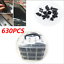 630pcs-Mixed-Car-Interior-Liner-Door-Panel-Side-Skirt-Bumper-Push-Fastener-Clips thumbnail 1