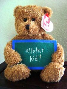 "Beanie Babies ""SCHOOL ROCKS"" ALLSTAR KID! - New with Tags"