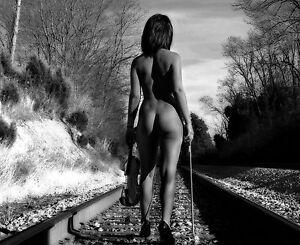 Nude girl train tracks, punjabi kudian naked