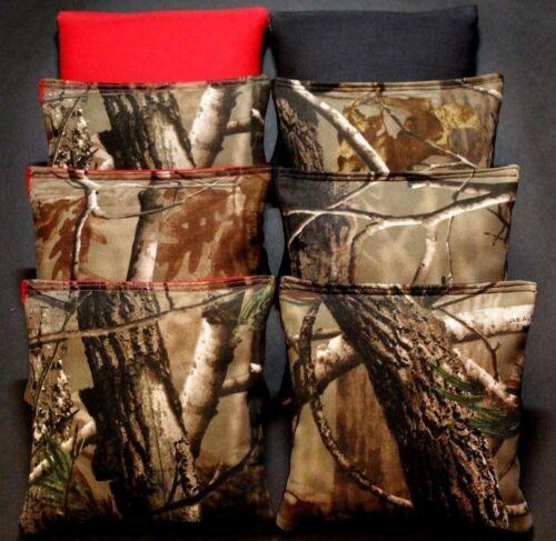 CORNHOLE BEAN BAGS TREE Camo Camoflauge 8 ACA  Tree Hunting Fishing Bags