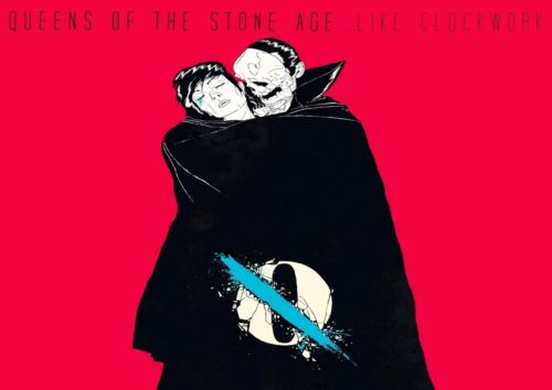 Queens Of The Stone Age 2 American Rock Band Poster Homme Music Star Scary Photo