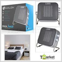 Ceramic Heater Fan Adjustable Power Electric Dc Motor Portable Bedroom Kids Room