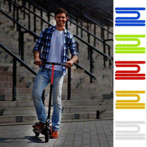 1 Set Waterproof Reflective Sticker For Xiaomi M365//pro scooter Keep Night Safe