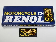 "Renold final drive rear 520 chain 120 links 520 Triumph pre-unit 5/8"" x 1/4"""
