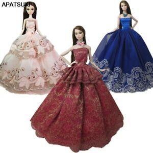 3pcs-lot-Random-Fashion-Doll-Clothes-For-11-5-034-Doll-Princess-Wedding-Dress-1-6