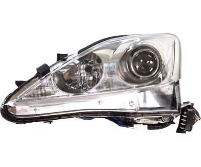 Headlight Headlamp Halogen LH Left Driver Side for 09-10 Lexus IS250 IS350 Sedan