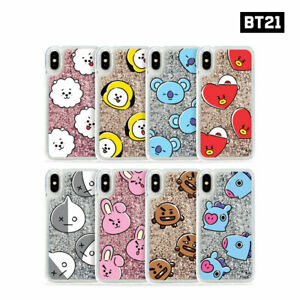 BTS-BT21-Official-Authentic-Goods-Glitter-Case-Hang-Out-Pattern-Series-By-GCASE
