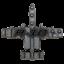 "thumbnail 3 - A-10 ""Warthog"" Thunderbolt II Military Aircraft Shaped Challenge Coin"