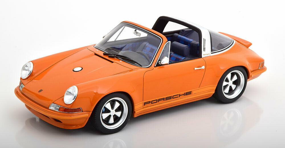 Kult Modells 1990 Porsche 911(964)Targa Sänger Orange 1 18 Maßstab Neu  Le Von