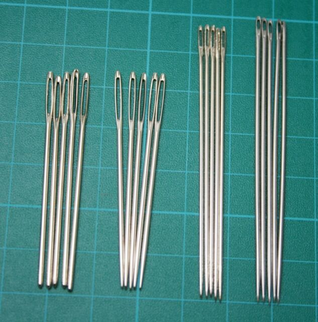 New 20pcs Lot Leather Craft Stitching Handwork Needles For Leather DIY Tool