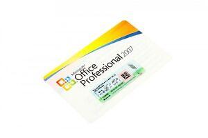 Microsoft Office 2007 Professional MLK deutsch MwSt