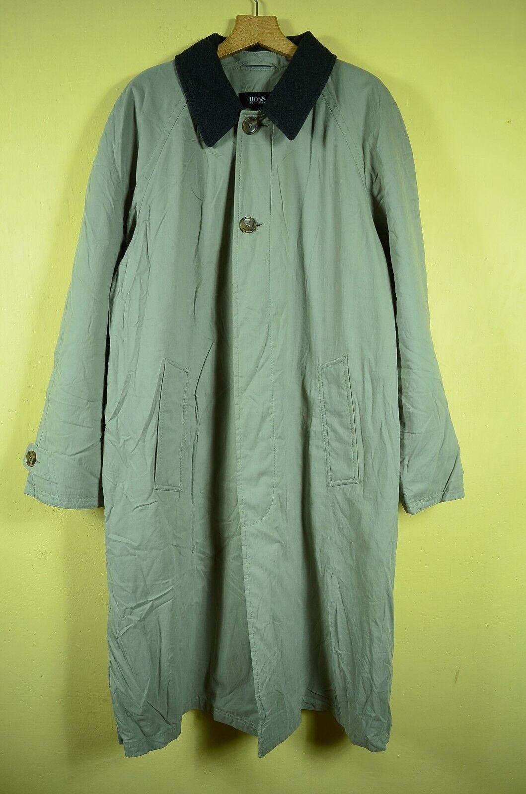 HUGO BOSS _ MEN'S VINTAGE LONG COAT MODEL MIDGET _ size 102 (XL)