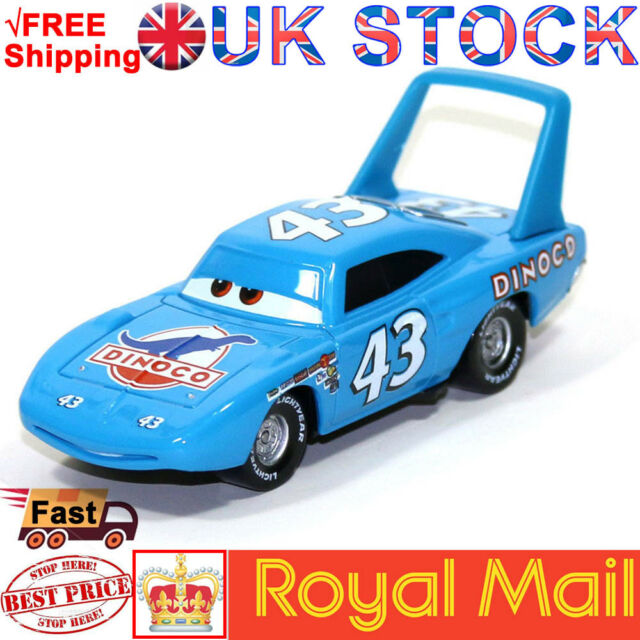 d744f735ab4cf Disney Pixar Cars No.43 King & Dinoco Mack Truck 1 55 Diecast Toy Car Loose