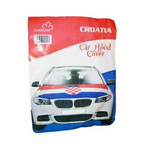 CROATIA CAR HOOD COVER FLAG  EURO CUP 2020 SHIPS FROM CANADA