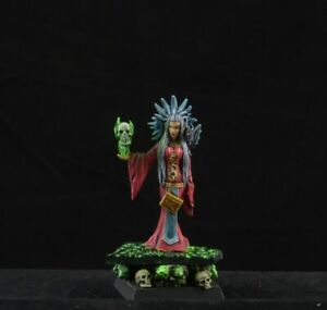 Necromancer Miniature for Dungeons and Dragons 5e Rpg