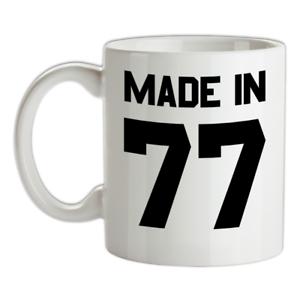Made-in-039-77-Mug-42nd-Compleanno-1977-Regalo-Regalo-42-Te-Caffe