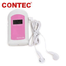 FDA US Pregnancy Baby fetus Heart Rate Monitor Fetal Doppler Recorder Sound, Gel