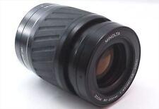 Minolta AF Zoom 80-200mm F/4.5-5.6 Macro Sony Alpha Black from Japan