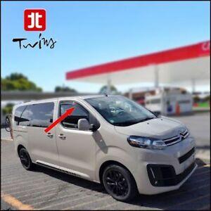 Deflecteurs-de-vent-pluie-air-teintees-Peugeot-Expert-III-Traveller-depuis-2016