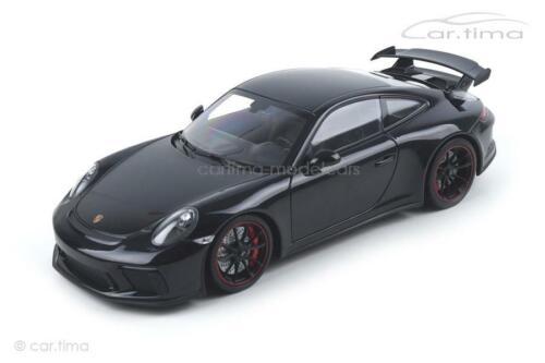 tiefschwarz met GT3 - Minichamps 1:18-110067021 Porsche 911 991 II