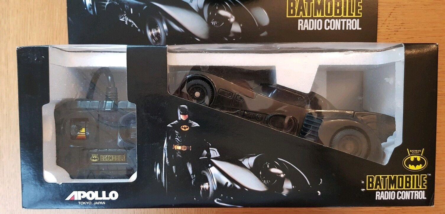 APOLLO BATMAN RETURNS BATMOBILE 1991 REMOTE CONTROL RARE UNUSED