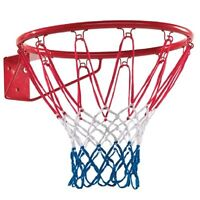Basketball Hoop Net Ring Wall Mounted Outdoor Hanging Basket 18''