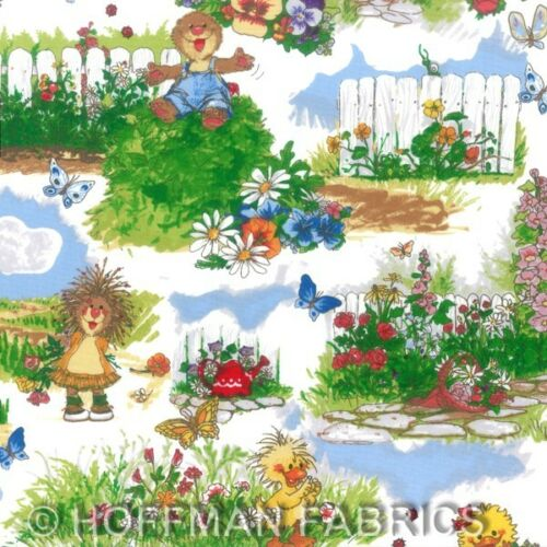 A Day With Suzy's Zoo Quilt Kit by Hoffman Fabrics Cotton Children Kids Print