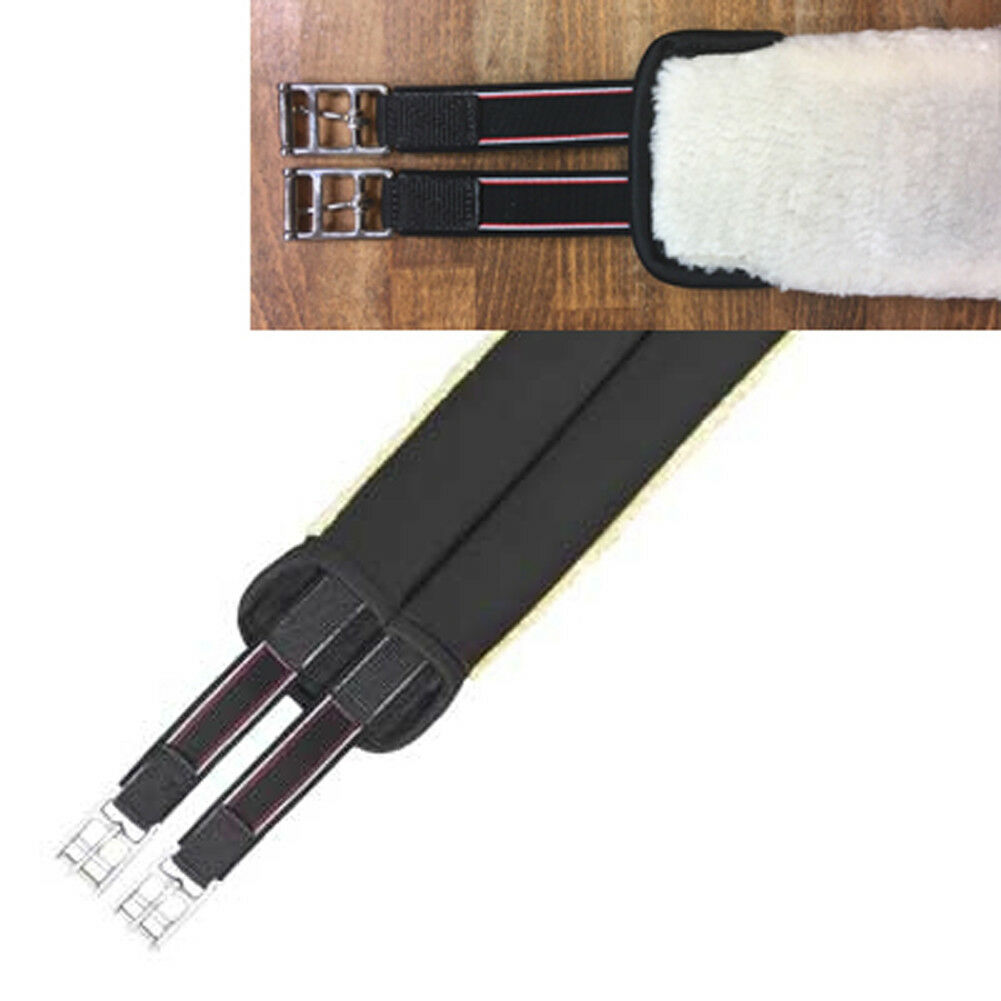 Euroriding neopreno sillín de cinturón con pelaje imitacion-en  ambos lados elastik  productos creativos