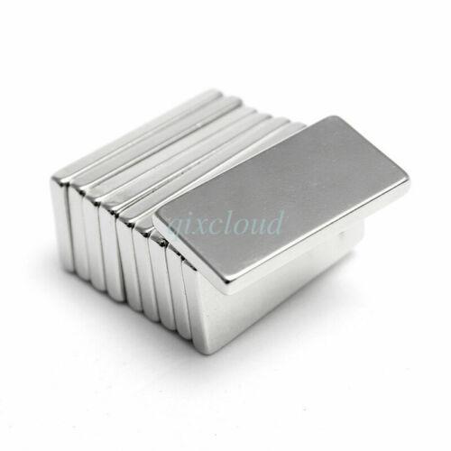 Neodymium Block Magnet 20x10x2mm Super Strong Rare Earth Magnets