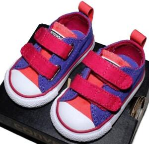 49a74e8585b718 Converse Baby Girls Chuck Taylor All Star Sneakers Shoes NEW Boxed ...