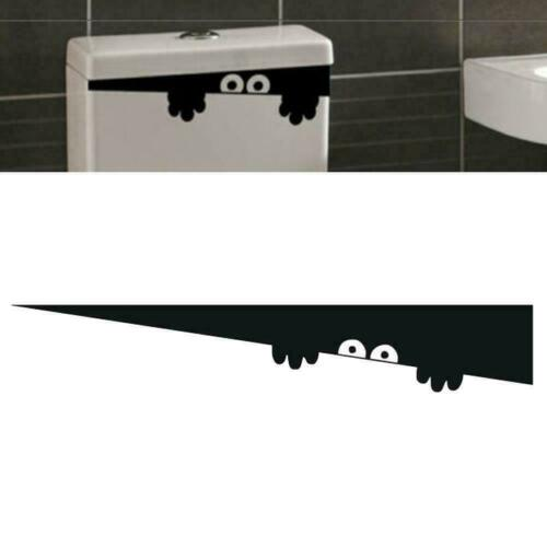 Halloween Wall Sticker Toilet Laptop Scary Ghost Sticker Humour Party Decor X7A8