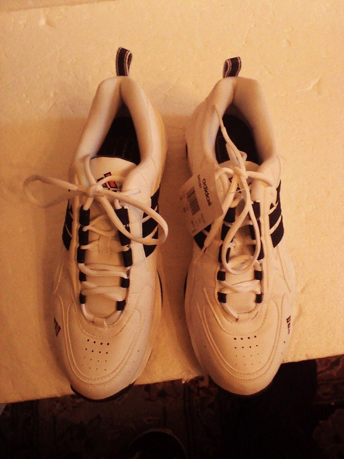 adidas schuhe training mens adiprene cross - training schuhe weiß / schwarz beschnittgröße 12 m f96ed0