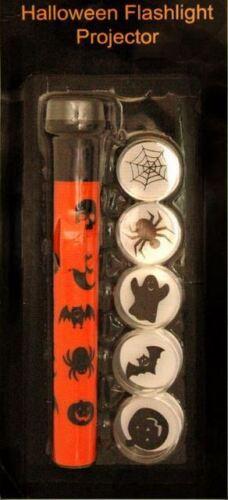 Halloween effrayant torche flash light projecteur jouet enfant party fun citrouille araignée