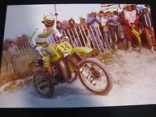 Photo Kawsaki 500 1980 #14 Brad Lackey (USA)  GP 500cc MX Frankrijk 1980 Big