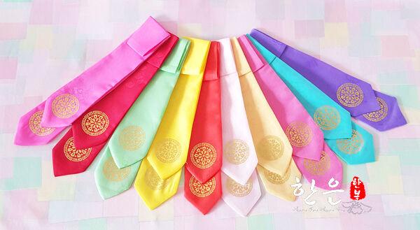 Hanbok Korean Headband Hairband Daenggi traditional Girl Accessory Dress bend