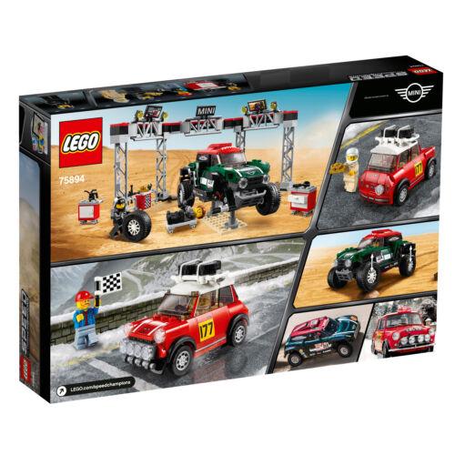 LEGO® 75894  Speed Champions Rallyeauto 1967 Mini Cooper S BUGGY Neuheit N3//19