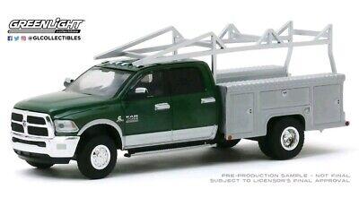 Greenlight Chevrolet DUALLY3500 SERVICE CRANE TRUCK SIVERADO HITCH TOW 1//64 DCP