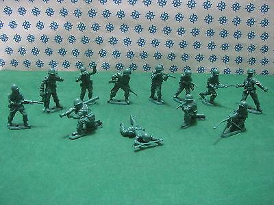 Fanteria Americana 12 Figure 50/60 Mm. Modelli Alla Moda