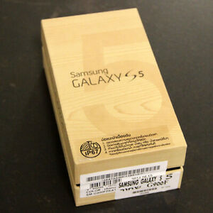SAMSUNG-GALAXY-S5-16GB-G900F-MINT-RETAIL-BOX-amp-PAPERS-NO-PHONE-NO-ACCESORIES