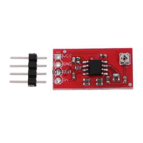 12V Mini Digital LMV358 Módulo Amplificador de señal de aumento de 100 veces para Ardiuno UK
