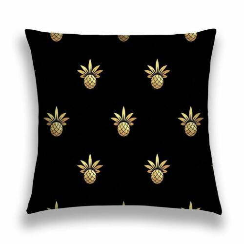 Pineapple Pattern Couch Cushion Cover Throw Taie D/'oreiller Canapé Voiture Décoration de la maison 20x20