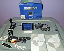 Vintage Olympus m:robe MR-500i 20GB Digital Camera & Media player MP3 WMA Tested