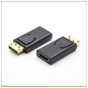 New-Display-Port-Male-to-HDMI-Female-Adapter-Converter-DisplayPort-DP-to-HDMI