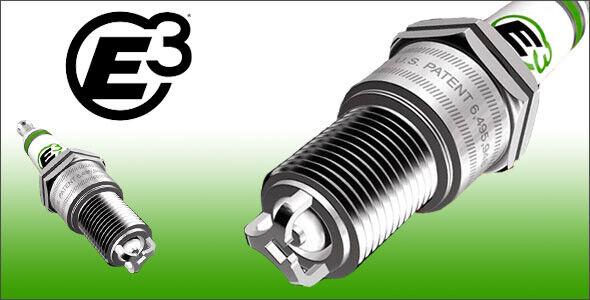E3 SPARK PLG E368 Automotive Spark Plug 4BX